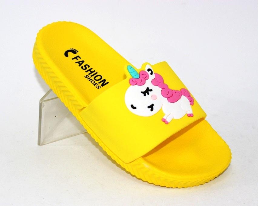 Купити дитячі шльопанці, літнє взуття для дівчаток