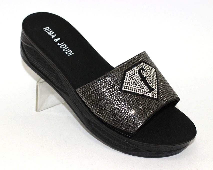 Купить шлёпки на танкетке, женские шлёпки распродажа, летняя обувь Киев, обувь Туфелек в Киеве 1