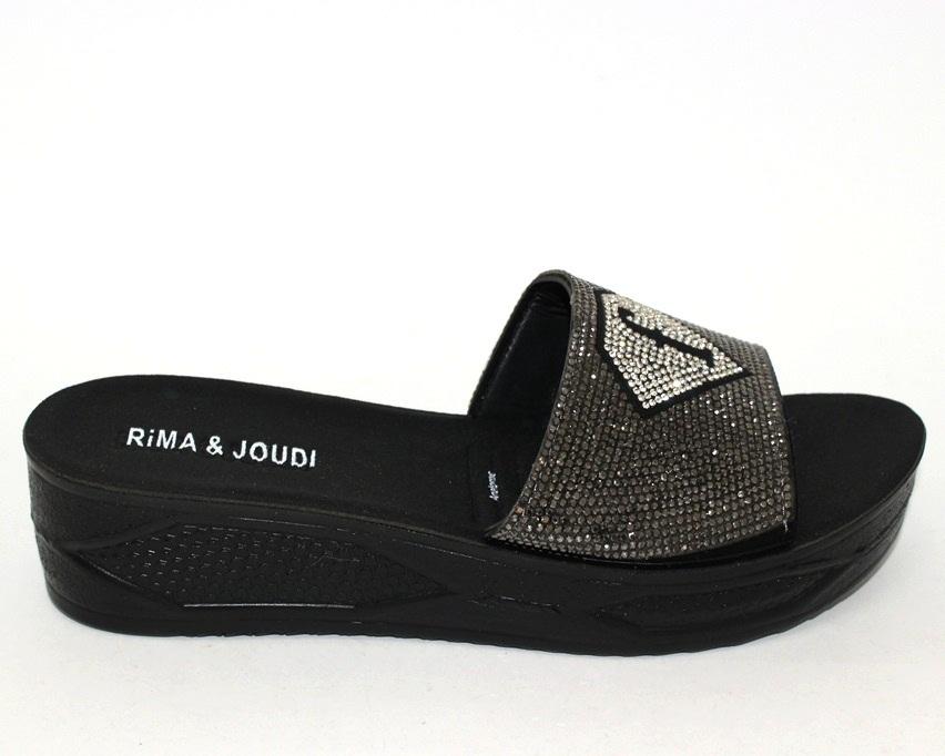 Купить шлёпки на танкетке, женские шлёпки распродажа, летняя обувь Киев, обувь Туфелек в Киеве 4