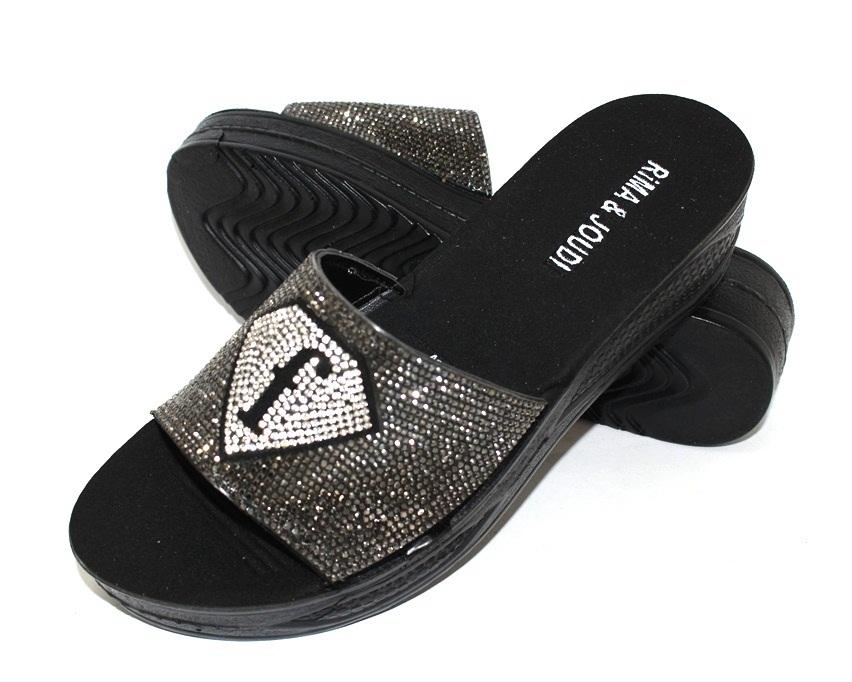 Купить шлёпки на танкетке, женские шлёпки распродажа, летняя обувь Киев, обувь Туфелек в Киеве 6