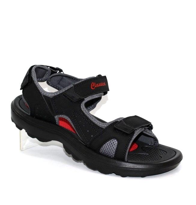 Мужские сандалии чёрного цвета