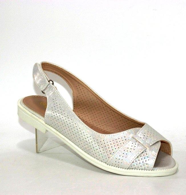 женские босоножки на низком каблуке Z120-2 купить в интернет магазине