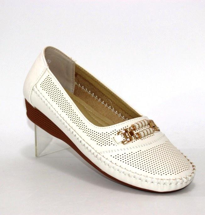 Купить туфли летние повседневные Nasite B069. Женская обувь - Туфелек