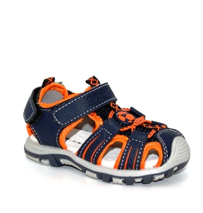 Купить 18-26 ясли LIBANG ML130C-orange. Обувь для мальчиков - Туфелек
