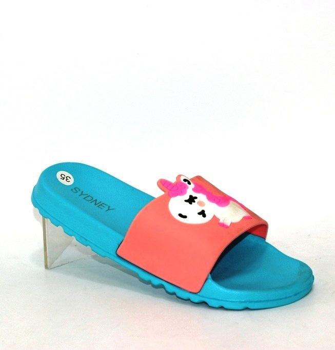 Купить 29-38 школа Sydney L994-3G-голубой. Обувь  для девочек - Туфелек