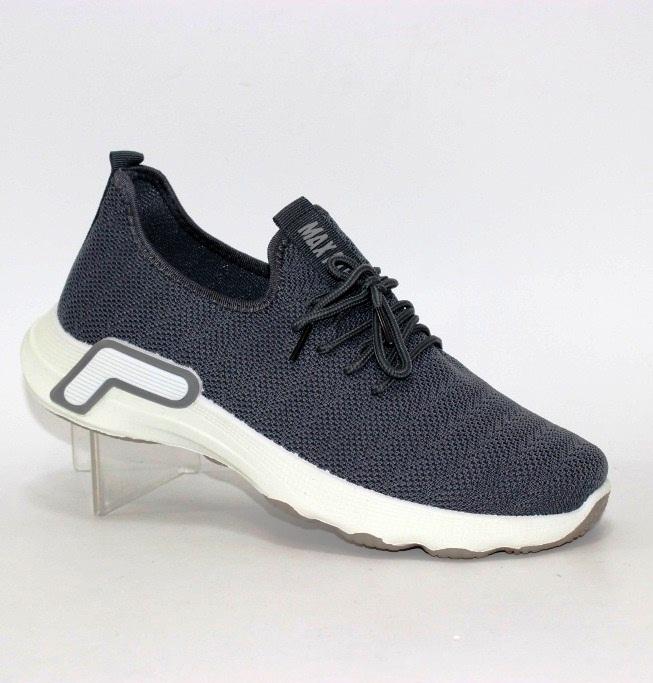 Мужские текстильные кроссовки 006-dk.grey - купить в интернет магазине по доступной цене в Украине