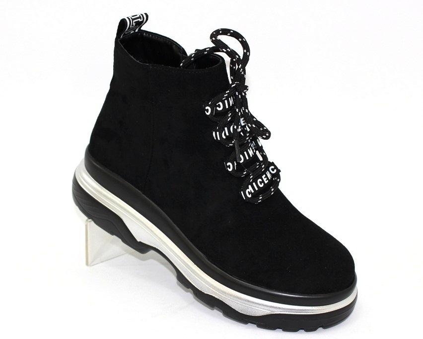 Молодёжные демисезонные полусапожки купить в Киеве, женская демисезонная обувь Украина 1