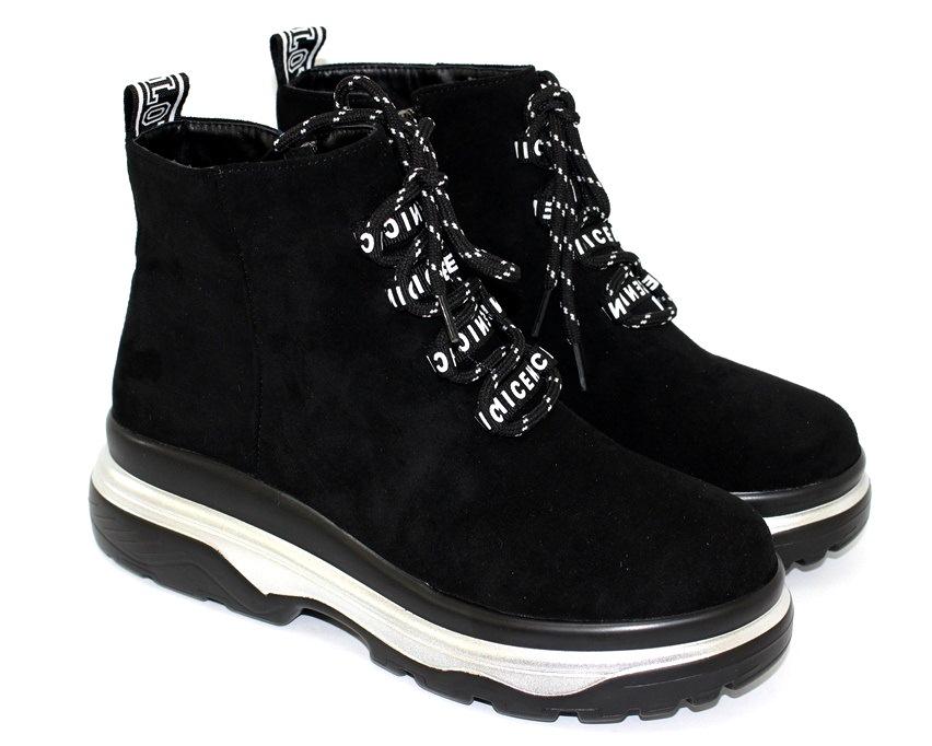 Молодёжные демисезонные полусапожки купить в Киеве, женская демисезонная обувь Украина 9