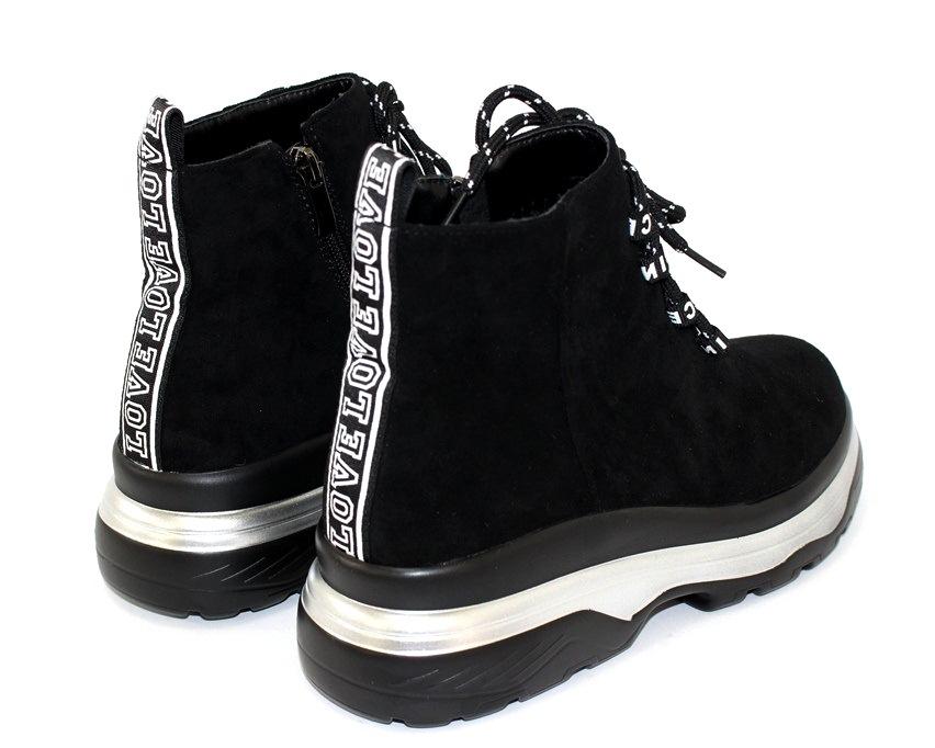 Молодёжные демисезонные полусапожки купить в Киеве, женская демисезонная обувь Украина 7