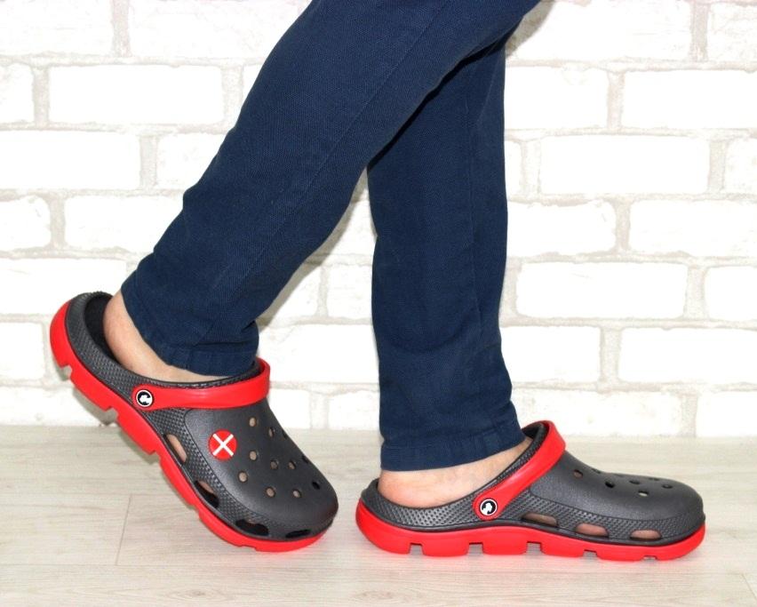 Купить мужские шлепанцы, кроксы, пляжная обувь для мужчин по доступным ценам 4