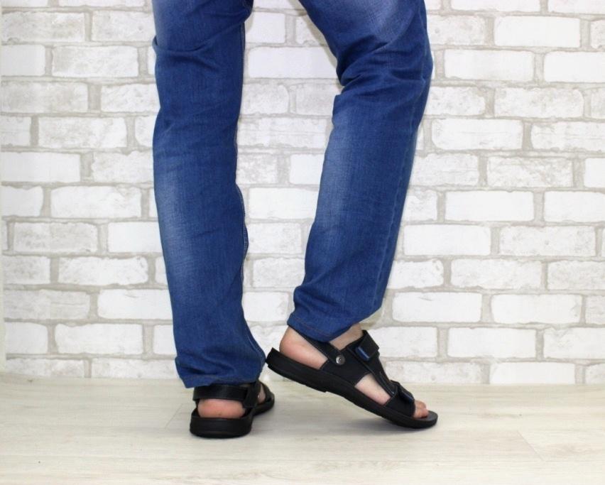 купить мужские сандалии в Киеве, Житомире. Алчевске, мужская летняя обувь, кожаные сандалии 4
