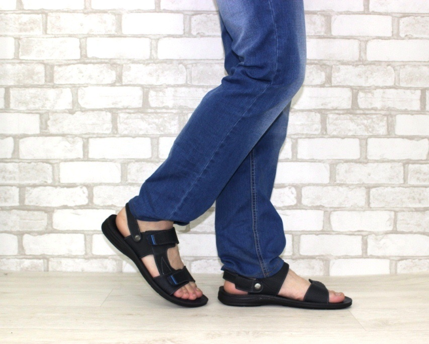 купить мужские сандалии в Киеве, Житомире. Алчевске, мужская летняя обувь, кожаные сандалии 3
