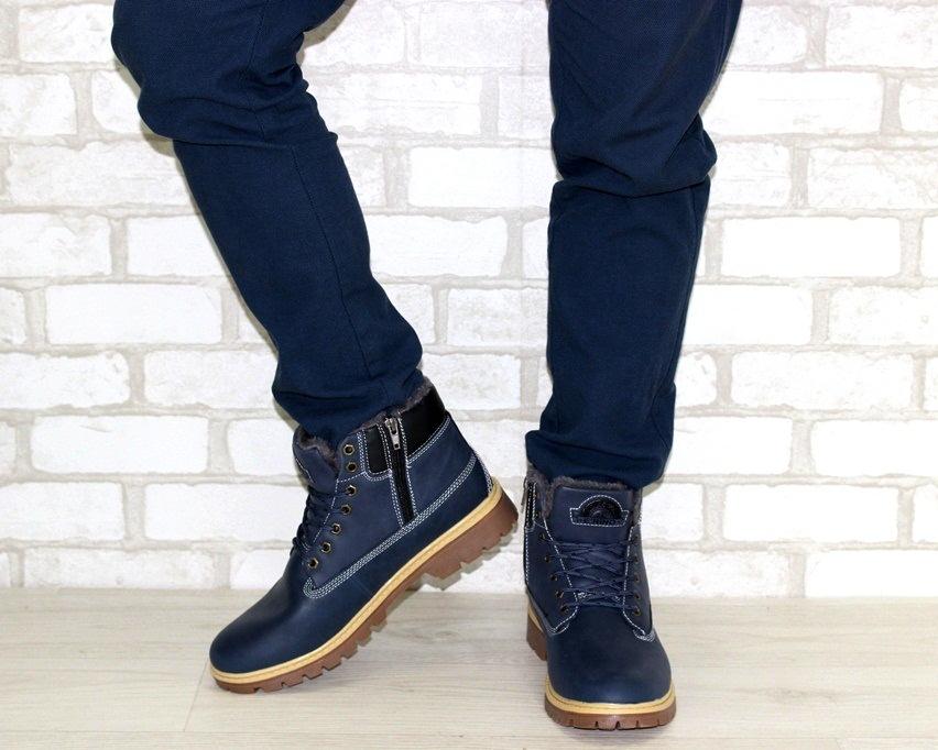 Мужские кожаные ботинки недорого, мужская кожаная обувь Киев, купить мужские ботинки 2