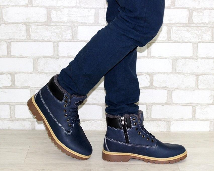 Мужские кожаные ботинки недорого, мужская кожаная обувь Киев, купить мужские ботинки 3