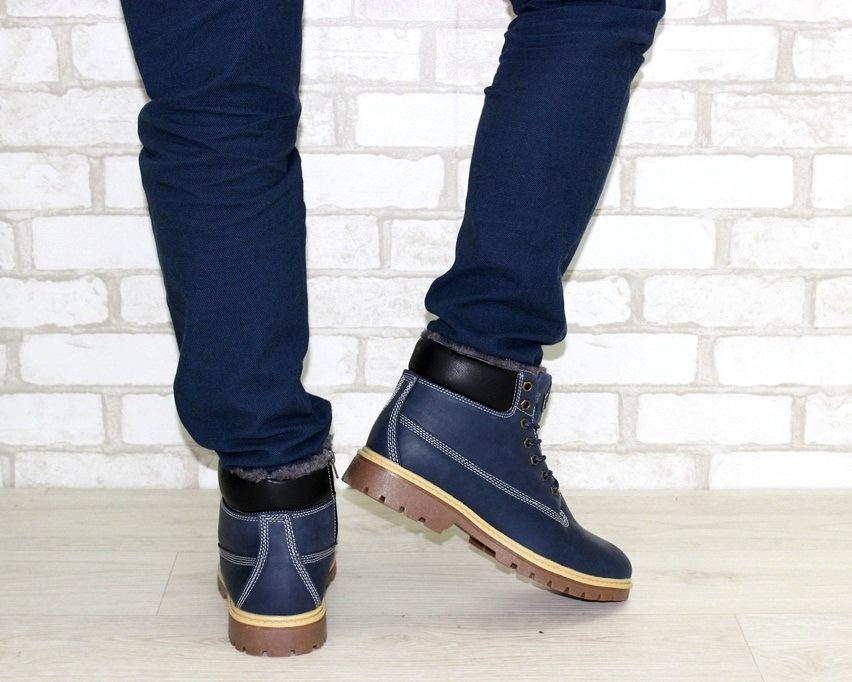 Мужские кожаные ботинки недорого, мужская кожаная обувь Киев, купить мужские ботинки 4