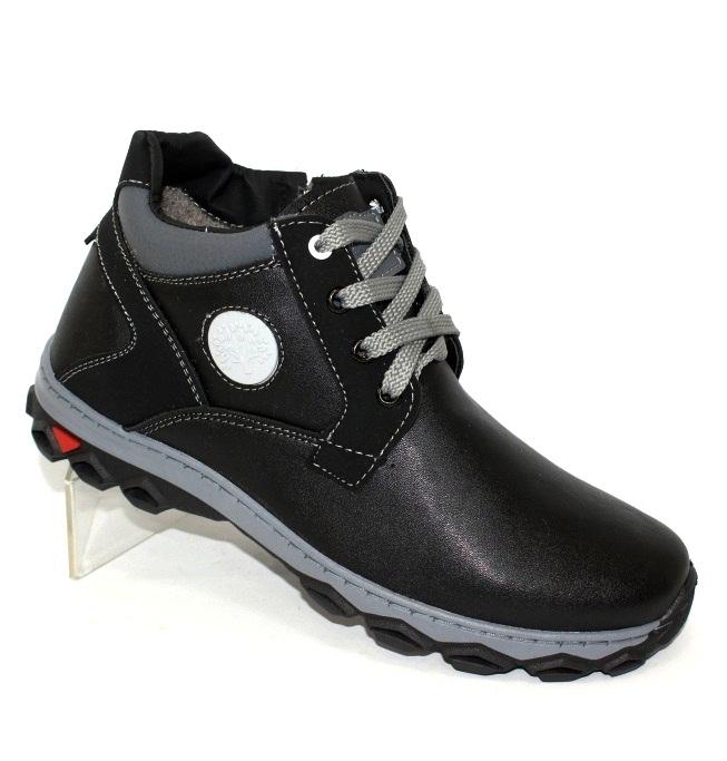 Мужские зимние невысокие ботинки украинского производства