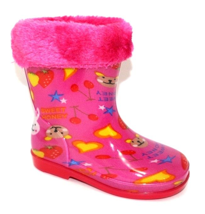 Купити дитячі гумові чоботи, силіконові чобітки