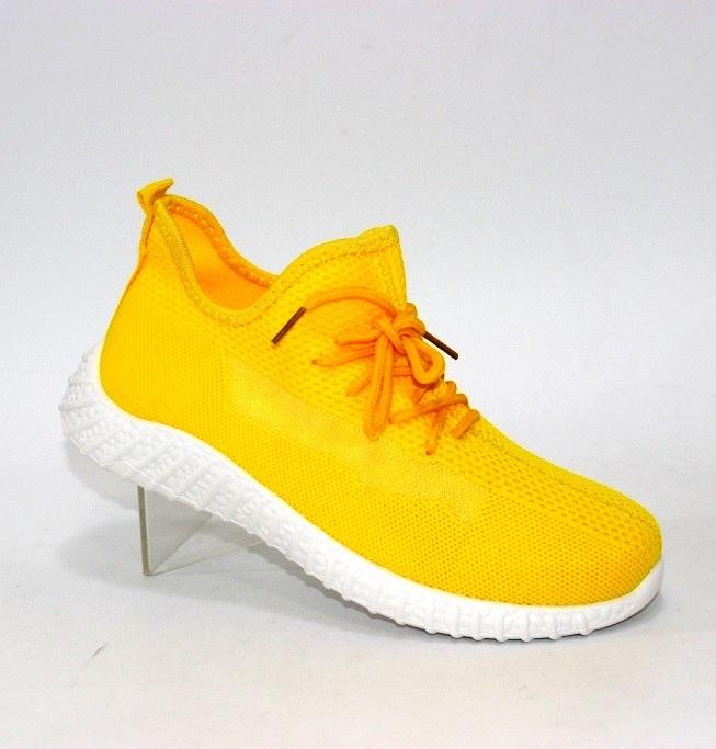Купить летние жёлтые кроссовки для девочек F5378-6 в Киеве и Украине спортивная обувь кроссовки кеды киев