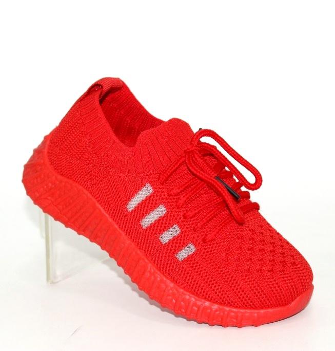 Купить летние красные кроссовки для девочки F5332-3 в Киеве и Украине спортивная обувь кроссовки кеды киев