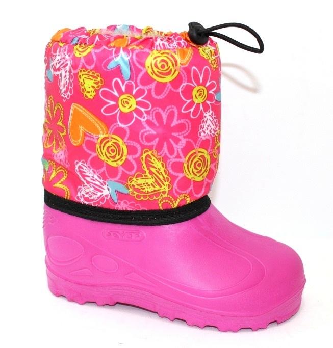 Дитячі рожеві чоботи з піни