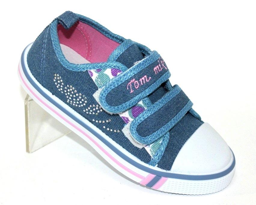 Купить 23-32 садик ТОМ.М 0575B. Обувь  для девочек - Туфелек 1