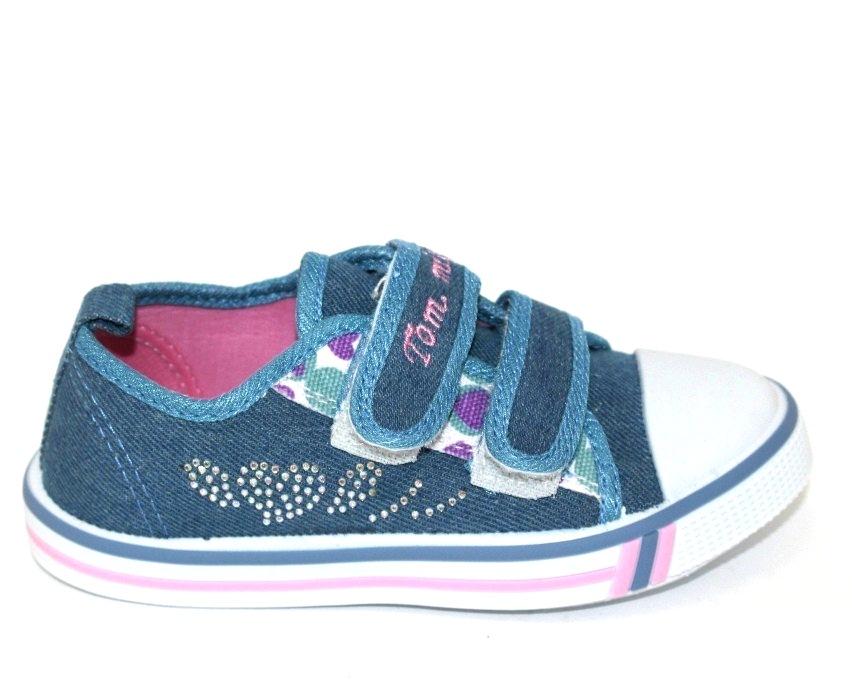 Купить 23-32 садик ТОМ.М 0575B. Обувь  для девочек - Туфелек 3