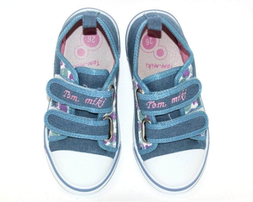 Купить 23-32 садик ТОМ.М 0575B. Обувь  для девочек - Туфелек 4