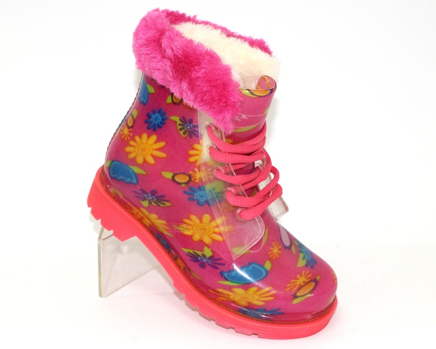 купити дитячі гумові чоботи, теплі гумові чоботи, дитяче взуття для дощу