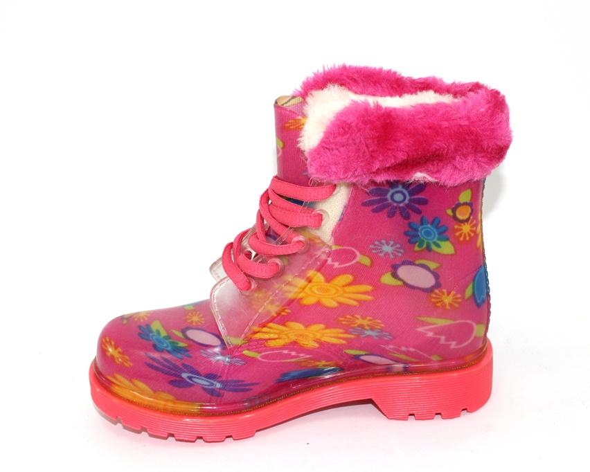 купить детские резиновые сапоги,теплые резиновые сапоги,детская обувь для дождя 5