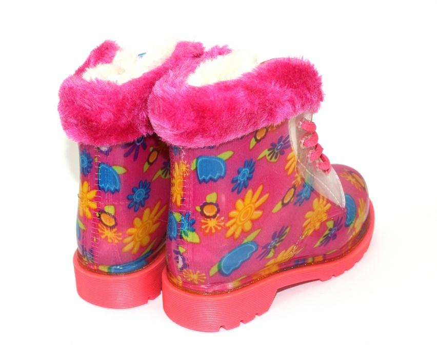 купить детские резиновые сапоги,теплые резиновые сапоги,детская обувь для дождя 6