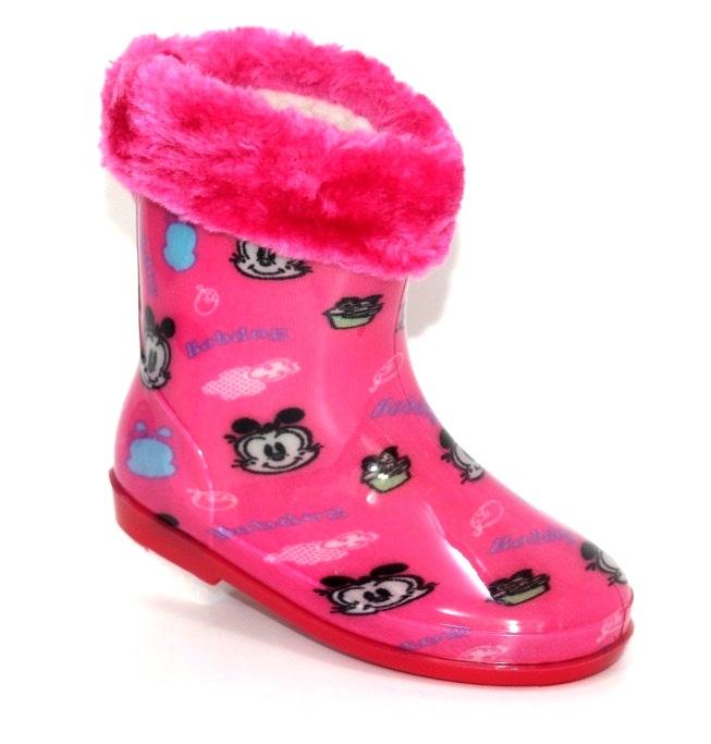 Купить детские резиновые сапоги для девочек Lucke Line. Обувь  для девочек - Туфелек