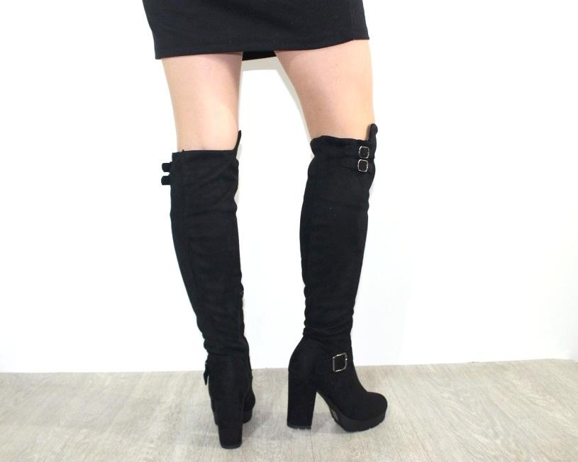 Женская обувь в розницу, высокие сапоги на каблуке 3
