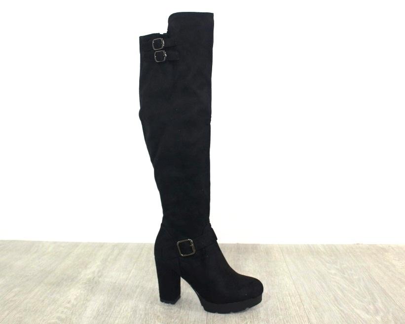Женская обувь в розницу, высокие сапоги на каблуке 6