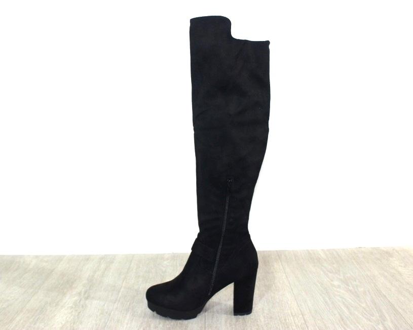 Женская обувь в розницу, высокие сапоги на каблуке 7