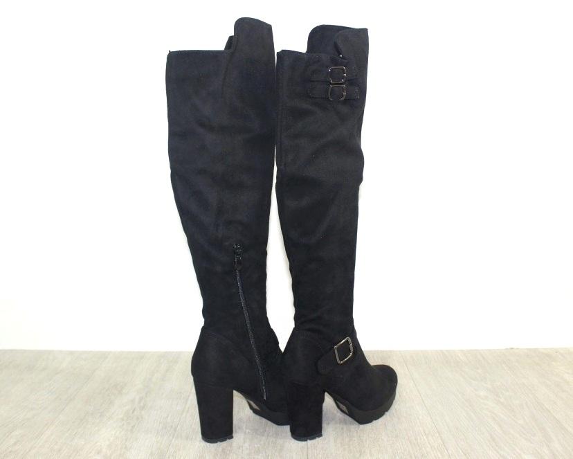 Женская обувь в розницу, высокие сапоги на каблуке 8