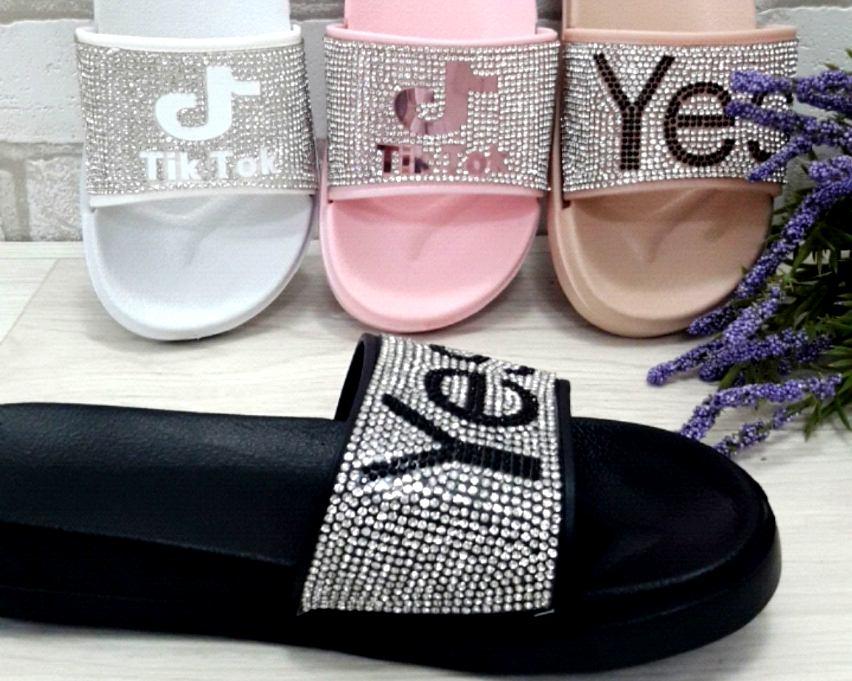 Купить шлёпанцы женские, женские шлёпанцы недорого, женская летняя обувь Киев, обувь Украина 4