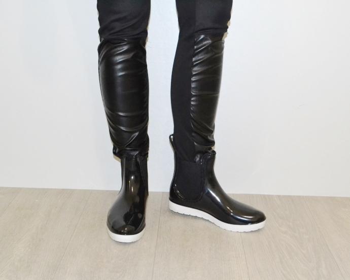 Женская силиконовая обувь, купить силиконовые ботинки Киев, резиновая обувь Украина 4