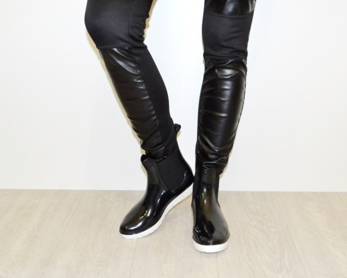 Женская силиконовая обувь, купить силиконовые ботинки Киев, резиновая обувь Украина 2