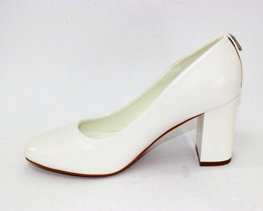 Женская модельная обувь Украина, туфли на каблуке белые, свадебные белые туфли 7