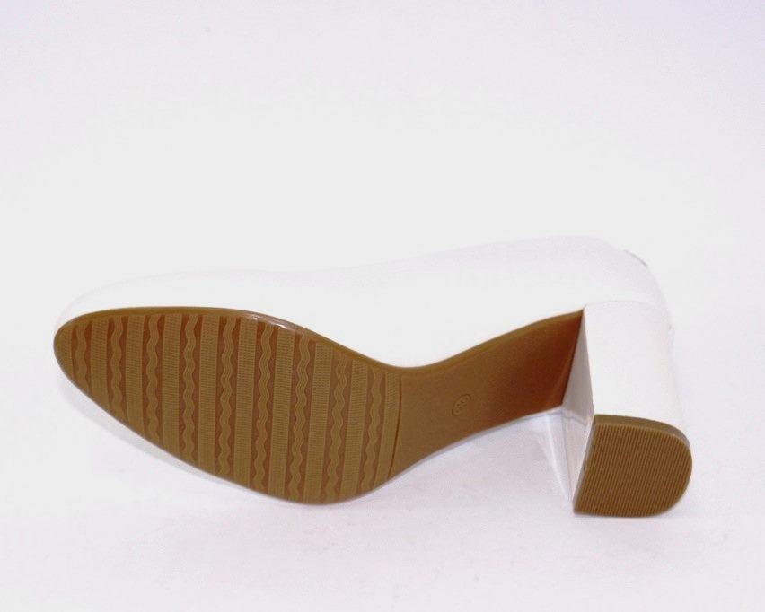 Женская модельная обувь Украина, туфли на каблуке белые, свадебные белые туфли 9