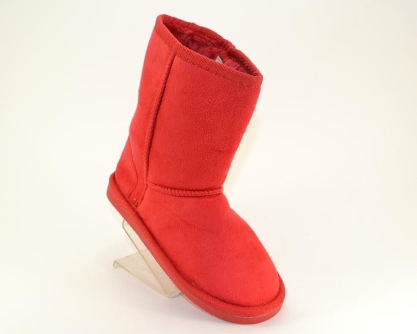 Угги красные для девочки, зимние сапожки детские, красные детские угги недорого, угги купить Запорожье