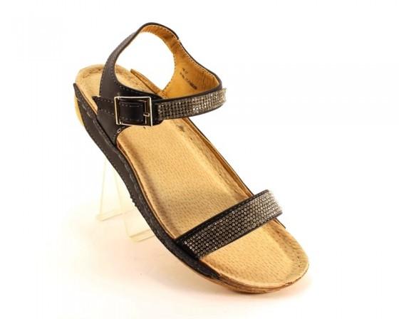 Босоножки женские 7-86200 NAWY из польши, распродажа летней обуви, летняя обувь, обувь дропшиппинг