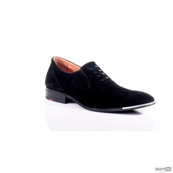 Замшевые мужские классические туфли от Украинского производителя