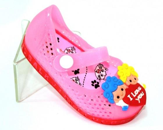 Купить 23-32 Шалунишка 988-P силикон. Обувь  для девочек - Туфелек