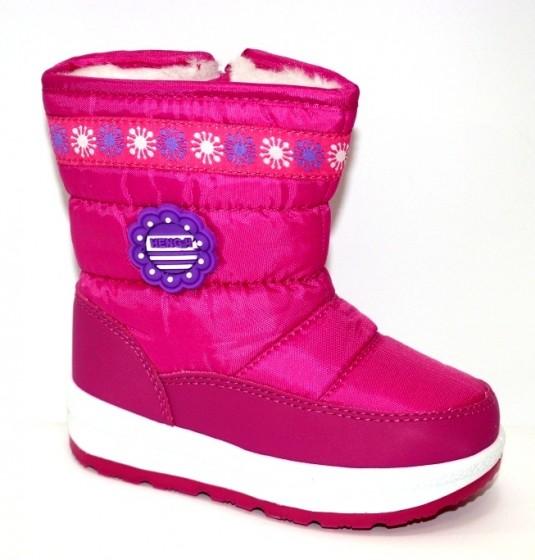 Тёплые сапожки для девочки Киев, зимняя детская обувь Украина, купить зимние сапоги