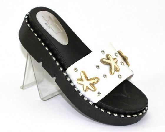 Женские шлёпки на каблке, шлёпанцы на каблуке Киев, женская обувь Украина