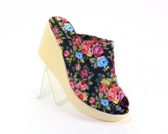 Шлёпанцы женские 7010 , летняя обувь Северодонецк, Мариуполь, купить красивые шлёпки 7010