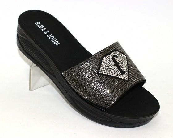 Купить шлёпки на танкетке, женские шлёпки распродажа, летняя обувь Киев, обувь Туфелек в Киеве