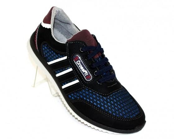 Купить Подростковые кроссовки 61-Синий по смешным ценам Киев может с доставкой