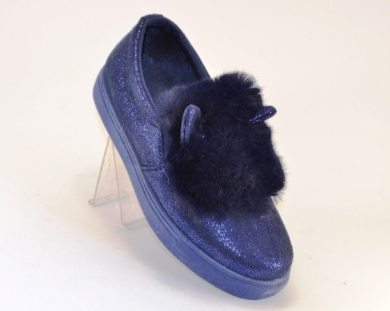 Модные слипоны ушки 1444-2 в Киеве купить в интернет магазине Туфелёк